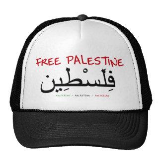 Free Palestine Trucker Hats
