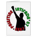 Free Palestine Intifada Card