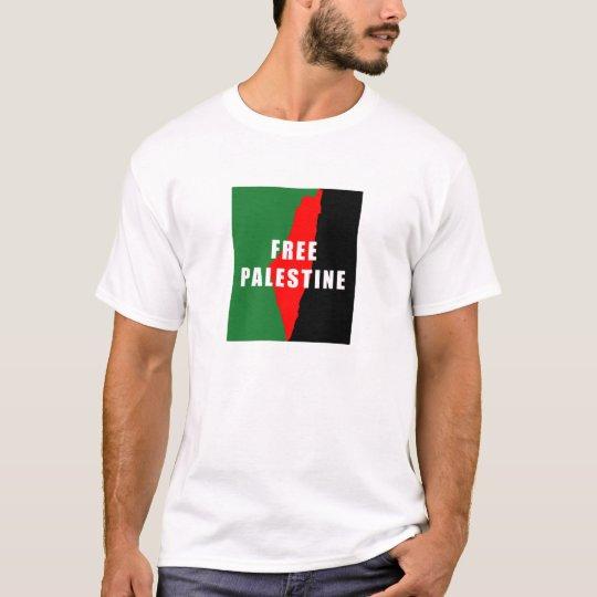 Free Palestine Map Mens TShirt