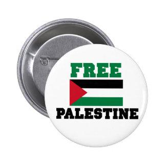 Free Palestine Pinback Buttons