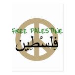 Free Palestine Post Card