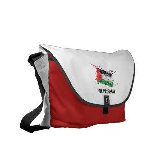 Free Palestine RedSnow Courier Bag