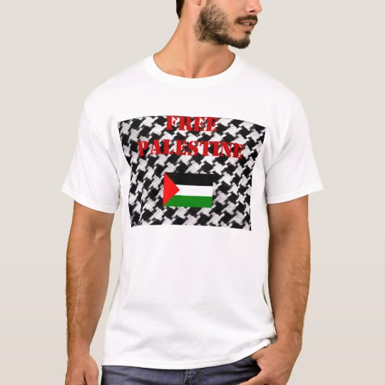 Free Palestine Scarf T-shirt