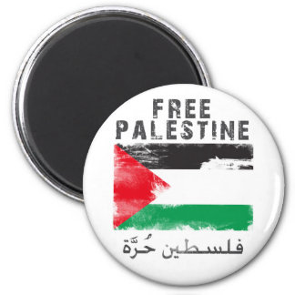 Free Palestine shirt 6 Cm Round Magnet
