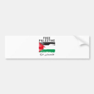 Free Palestine shirt Bumper Sticker