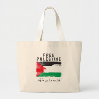 Free Palestine shirt Large Tote Bag