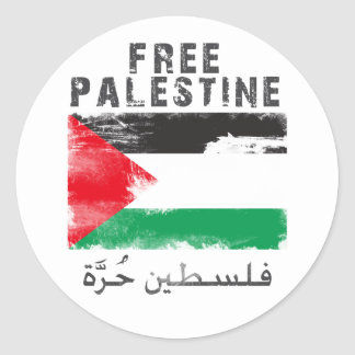 Free Palestine shirt Round Sticker