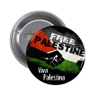 Free Palestine - Viva Palestina Pin