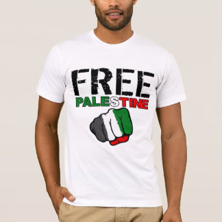 "Free Palestine w/ ""from river to sea"" quote T-Shirt"