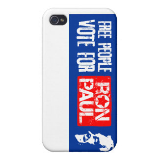 Free people vote for Ron Paul iPhone 4/4S Case