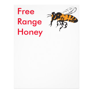 Free range. 21.5 cm x 28 cm flyer