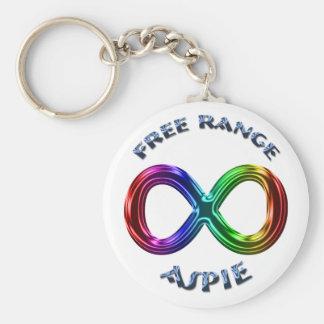 Free Range Aspie Keychain