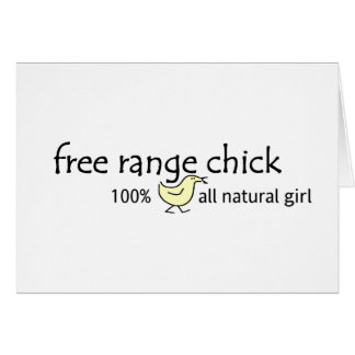 Free Range Chick Card