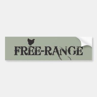 Free-range Chicken Bumper Sticker