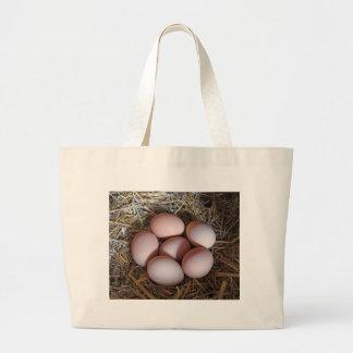 Free Range Chicken Eggs Jumbo Tote Bag