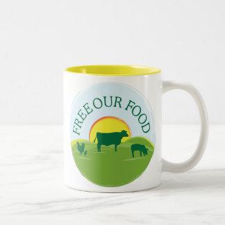 Free Range Food Mug