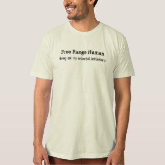 Free Range Human T-Shirt