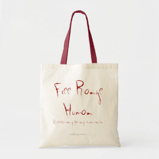 Free Range Humans bag