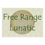 Free Range Lunatic Pack Of Chubby Business Cards