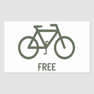 Free Rectangular Sticker