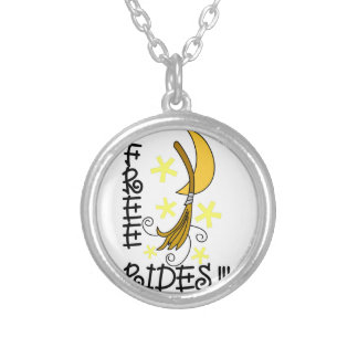 Free Rides Round Pendant Necklace
