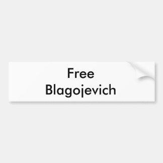 Free Rod Blagojevich Bumper Sticker
