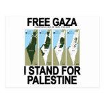FREE SAFE GAZA PALESTINE.png Postcard
