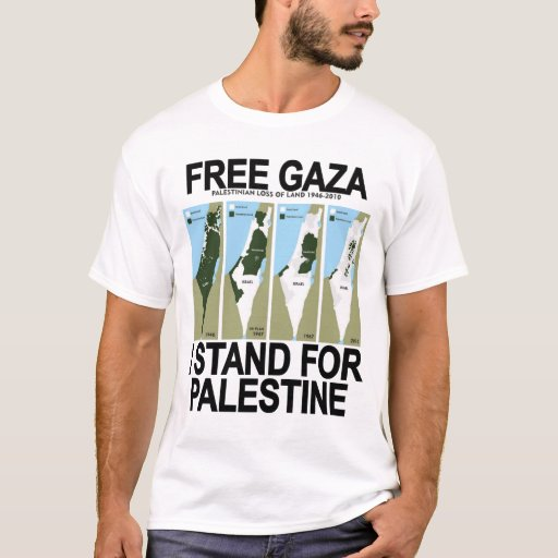Image of FREE SAFE GAZA PALESTINE T-shirt