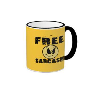 Free Sarcasm Coffee Mug