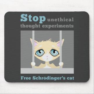 Free Schrodinger's Cat Mouse Mat