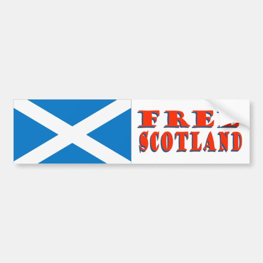 Free Scotland Bumper Sticker