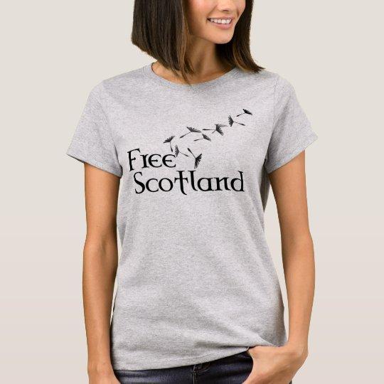 Free Scotland Dandelion Seed T-Shirt