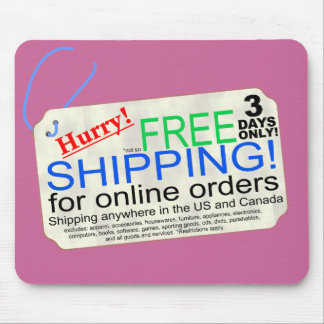 Free Shipping! Mouse Pad