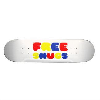 FREE SNUGS SKATE BOARD DECK