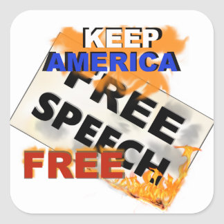 Free Speech Sticker