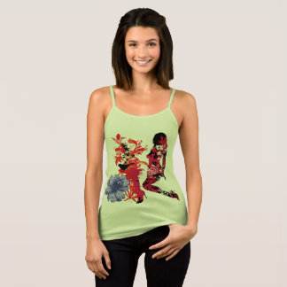 Free Spirit and Flowers Tank Top