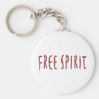Free Spirit Basic Round Button Key Ring