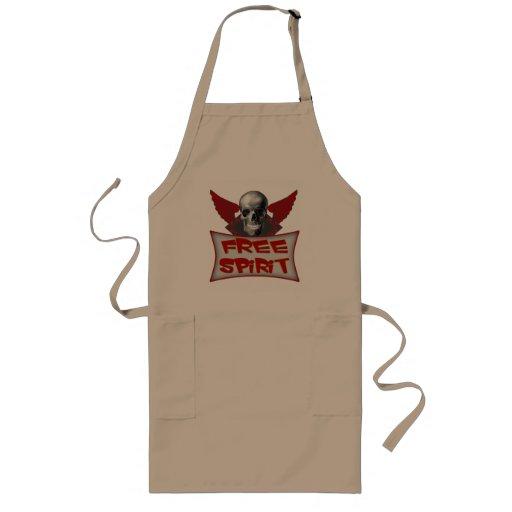 Free Spirit Biker T-shirts and Gifts Apron