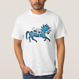 free spirit_blue T-Shirt