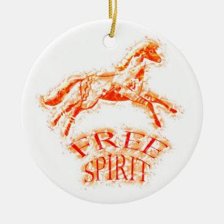 Free Spirit Christmas Ornament