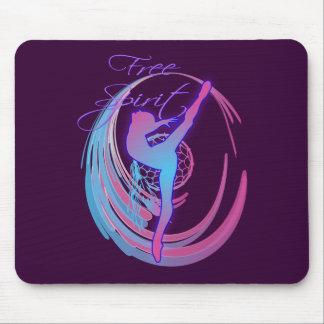 Free Spirit Dancer Mouse Pad