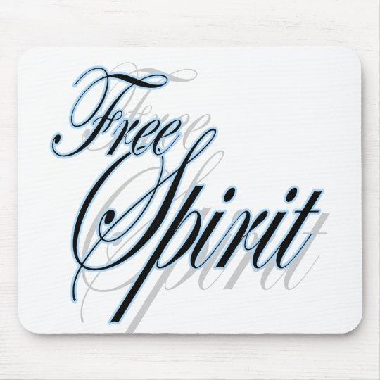 Free spirit inspirational mousepad for girls