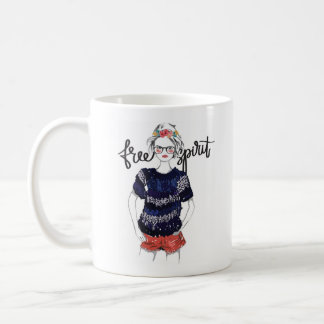Free Spirit Teen Fashion Vogue 11oz Mug