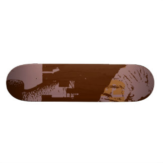 Free State of Africa Skate Board Deck