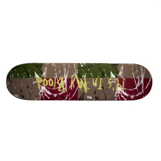 Free style custom skate board