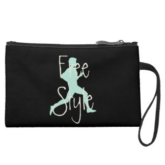 Free Style Jogger Runner Travel Hobby Suede Wristlet