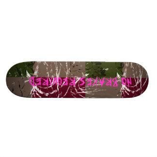 Free style skateboard