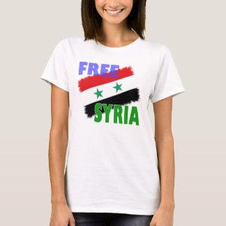 Free Syria flag T-Shirt