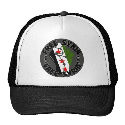Free Syria Mesh Hats