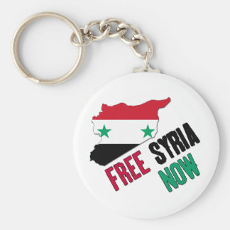Free Syria Now Key Ring
